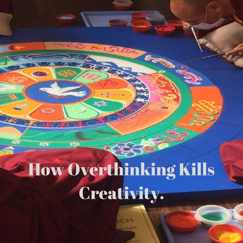 How Overthinking Kills Creativity