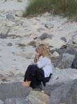 Dianne meditating